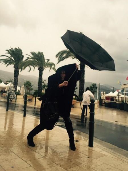 Tout va bien au Telethon de Saint Jean Cap Ferrat! #marraine #3637